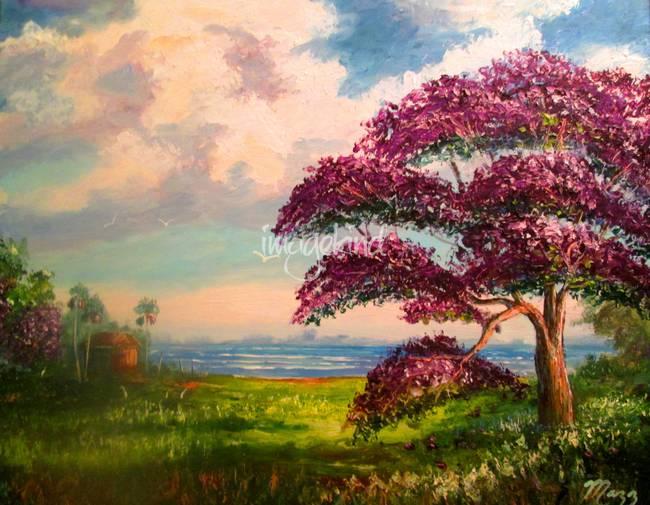 Jacaranda Tree Colors