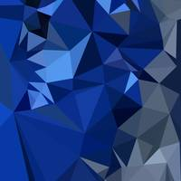 Catalina Blue Abstract Low Polygon Background
