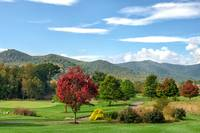 Fall Foliage Color Across the Fairway