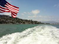 Old Glory and Sausalito