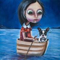 voyage Art Prints & Posters by Linda McKernan