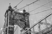 John A. Roebling Suspension Bridge Cincinnati