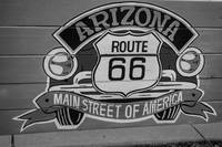 Arizona Route 66 Sign