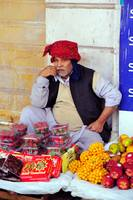 The Fat Fruit Seller