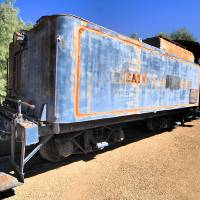 Death Valley Train by Donnie Shackleford