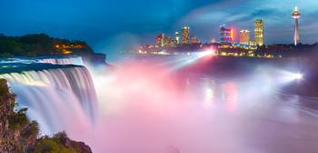 Niagra Falls Illuminated II