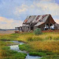 dilapidated weber barn near mancos by r christopher vest
