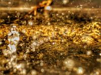 RAIN PUDDLE ABSTRACT #9, 30 NOVEMBER 2015
