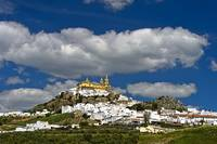 Olvera in full sunshine, Andalusia, Spain