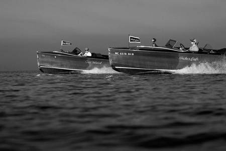 Black & White Series-Wooden Boat 11