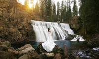 Wedding at Middle Falls