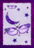 Moth Mystic New Age Folk Art