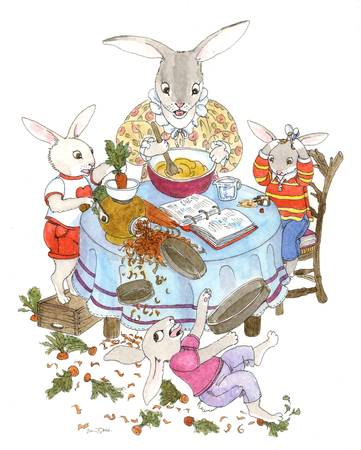 BakingBunnies by Diana Delosh