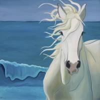 """Sam at the Beach"" by LeslieAnneWebb"