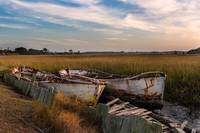 Rusted Lowcountry Boats