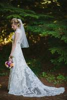 Bride Under The Pine Boughs