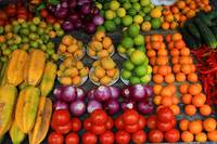 Fruit and Vegetable Market in Otavalo