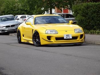 Ferrari Yellow Supra By Katherine Clarke