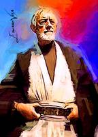 Obi-Wan Kenobi #4 Art by Edward Vela