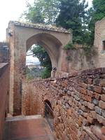 Brick Wall and Arch in Certaldo