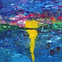 Lake Sunset Art Prints & Posters by Francine Kizner