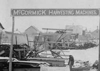 McCormick Harvesting Machines