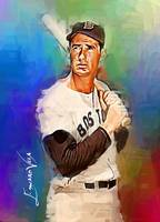 Ted Williams #15 Wall Art