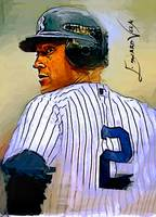 Derek Jeter #13 Wall Art