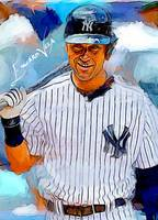 Derek Jeter #14 Wall Art