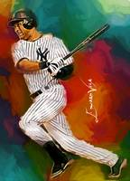 Derek Jeter #15 Wall Art