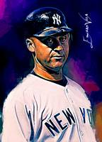 Derek Jeter #16 Wall Art
