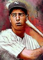 Joe Dimaggio #10 Art by Edward Vela