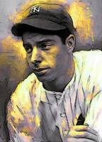 Joe DiMaggio #11 Art by Edward Vela