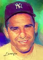 Yogi Berra #8 Art by Edward Vela