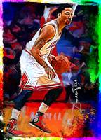 Derrick Rose #4 Wall Art