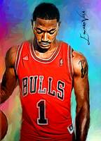 Derrick Rose #5 Wall Art