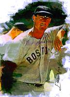 Ted Williams #16 Art by Edward Vela