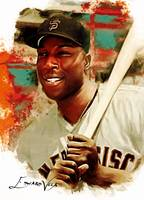 Willie McCovey #6 Art by Edward Vela
