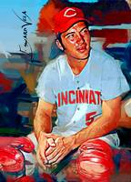 Johnny Bench #5 Art by Edward Vela