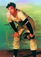 Joe Dimaggio #9 Art by Edward Vela