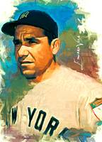 Yogi Berra #9 Art by Edward Vela