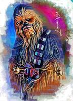 Chewbacca #6 Art by Edward Vela