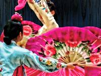 Traditional Korean Fan Dance