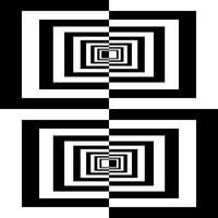 Black And White Geometric Rectangles10