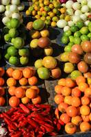 Fresh Fruits and Vegetables at the Mark