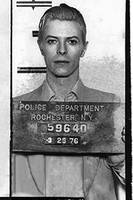 David Bowie Mug Shot Vertical
