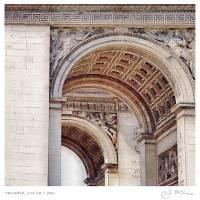 Triomphe, 2:45 PM (11x11) by John McConnico