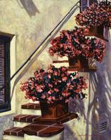 THE BEGONIA STAIRS