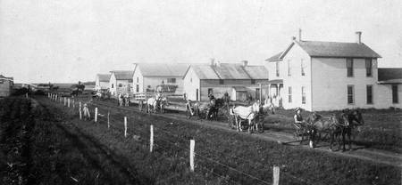 Buffington bonanza farm in 1895