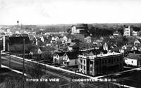 Crookston north end from Courthouse hill